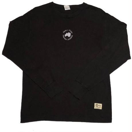 H.U.T L/S TEE BLACK
