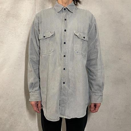 ヒッコリーシャツ