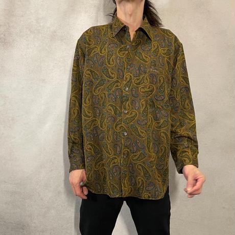 ペイズリーシャツ