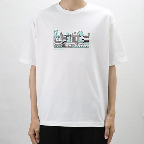 【Beyond18プロジェクト】 OHARA MUSEUM イラストTシャツ(White)