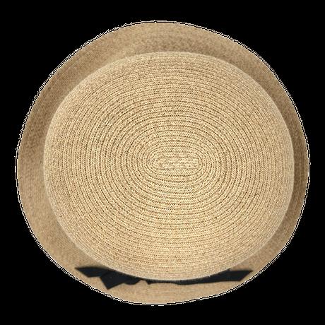 ラフィアブレード ソフトハットブルトン 石田製帽