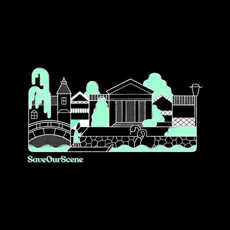 【Beyond18プロジェクト】 OHARA MUSEUM イラストTシャツ(Black)