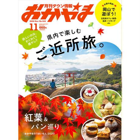 【送料無料】月刊タウン情報おかやま 11月号