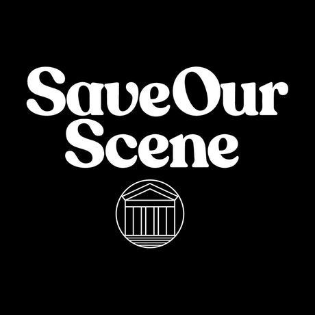 【Beyond18プロジェクト】 Save Our Scene ロゴTシャツ(Black)
