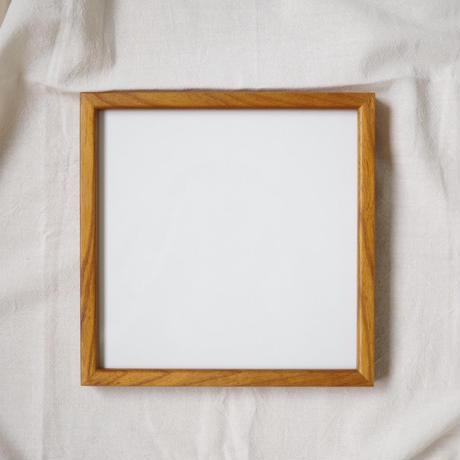 木製ポスターフレーム*正方形*20cm角