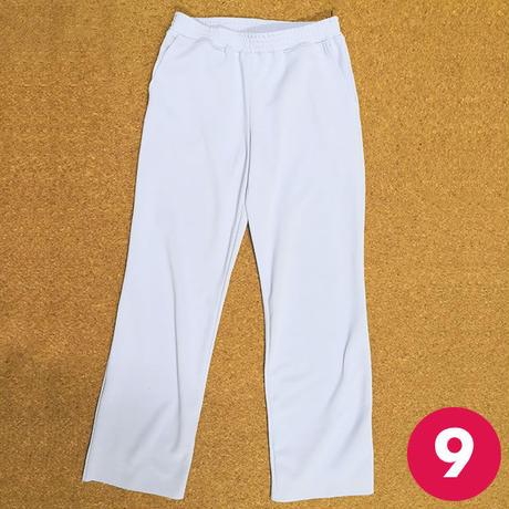 【9号】切り替えポケット付きストレートパンツの作り方