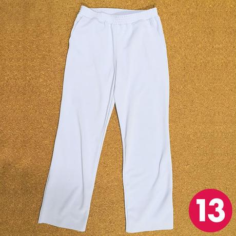 【13号】切り替えポケット付きストレートパンツの作り方