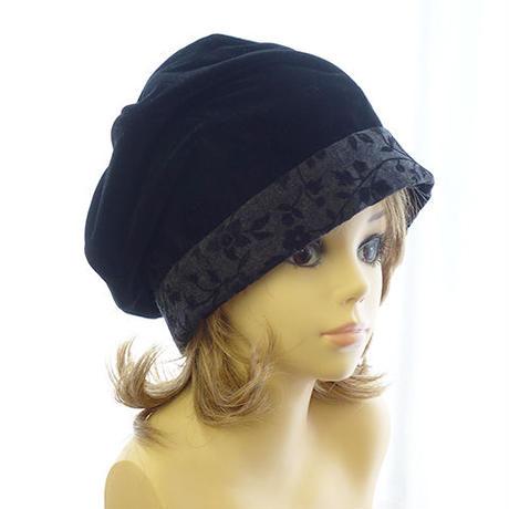 【Mサイズ】6枚ハギのたるみベレー帽 A3 PDF型紙(55~59cm用)