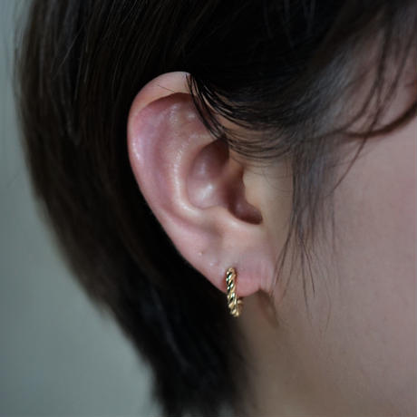 【予約】press earcuff  medium GP  片耳【HRA042CFGP M 】