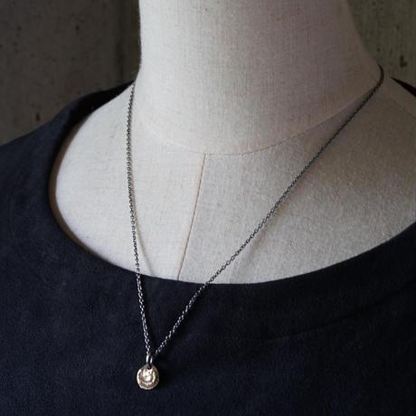 【予約】 Ancient moon necklace K10+SV 【HRP090 K10TOP】