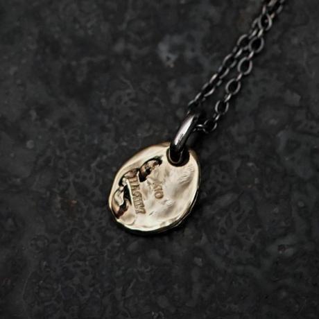 【予約】 Ancient  flower necklace K10+SV 【HRP091 K10TOP】