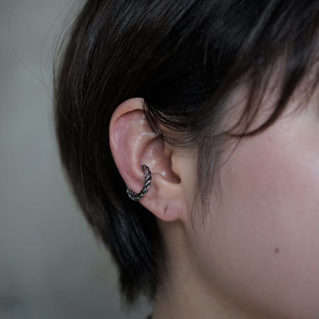 【予約】press earcuff  large SV  片耳【HRA042CFSV L 】