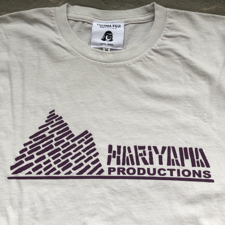 Hariyama Productions TEE with TACOMA FUJI RECORDS