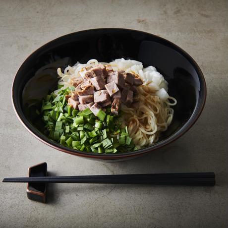 13湯麺コラボ「松井特級和えそば」細麺、太麺セット各2食(4食分)