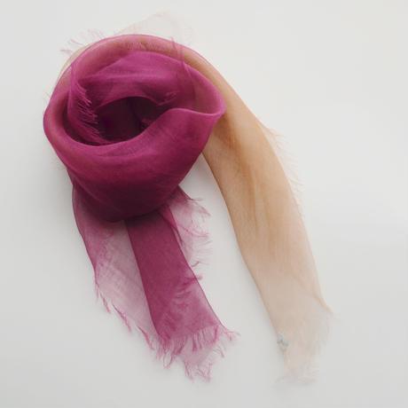 ぼかし染ラミー薄羽(うすば)Mini 華紫(はなむらさき)
