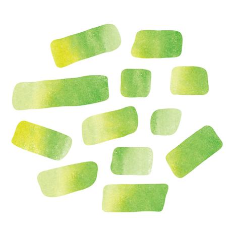 ペタペタ ウォーターカラー YELLOW GREEN
