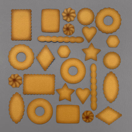 TABA_テクスチャーカードセット [COOKIE]