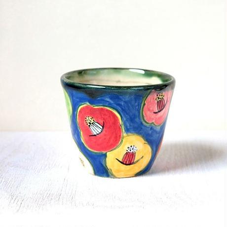 スマイル・カメリア(ブルー)のフリーカップ