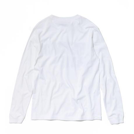 パーマネントロゴ レギュラーサイズロングスリーブTシャツ (LT-19-005)