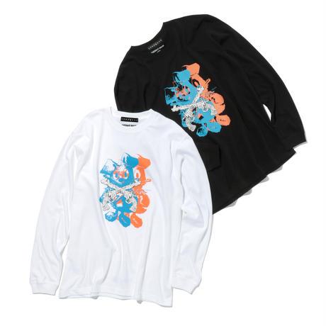 roarguns × INSTANT FAME BLUEZ コラボレーションロングスリーブTシャツ (LT-20-RB01)