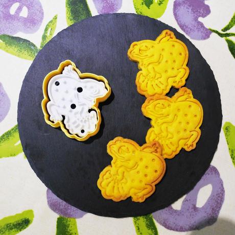 レオパスタンプクッキー型