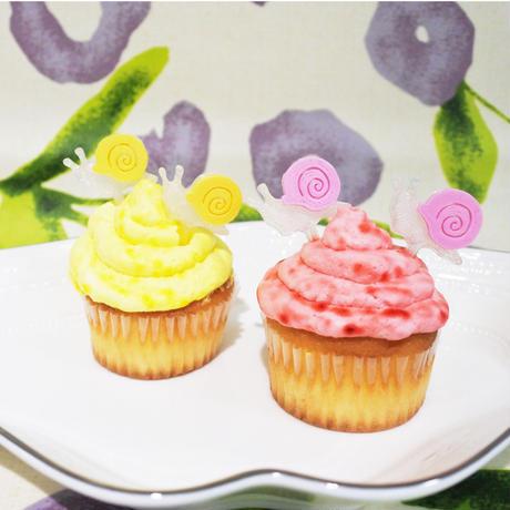 ケーキピックカタツムリ2本セット