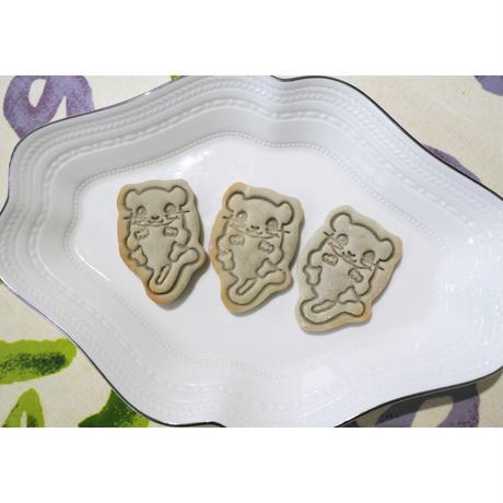 ヤマネスタンプクッキー型