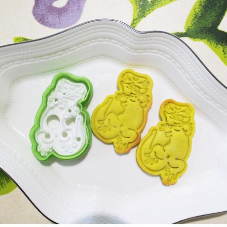 ヒルヤモリスタンプクッキー型(難易度高)