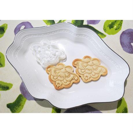 お蚕様タンプクッキー型