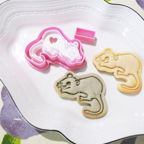 ねずみスタンプクッキー型