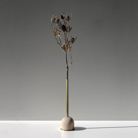 FUNNEL bud vase / L  / Maple