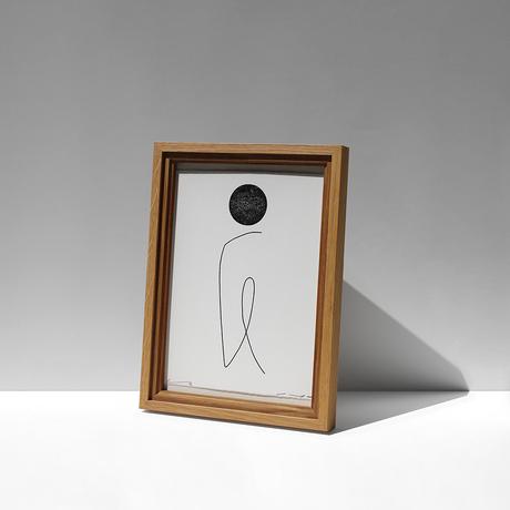 FILL frame / A4 size / Oak
