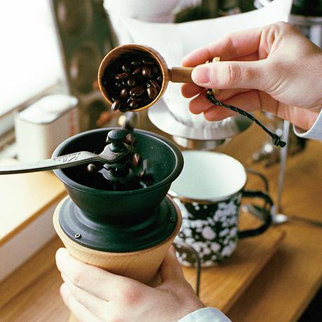 LEHTO coffee measure spoon / Walnut