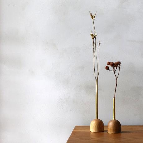 FUNNEL bud vase / S  / Oak