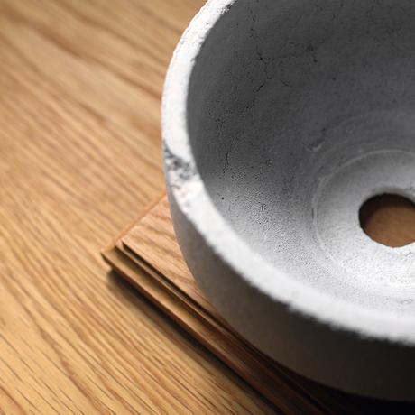RECLAIM pot / Shallow / WH / Oak