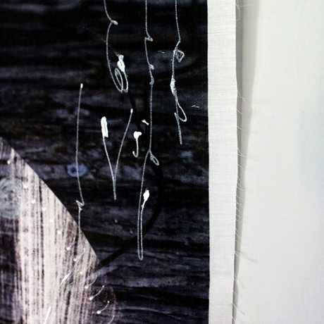 H/C × Kayo Nomura / FOREST CLOTH FRAGMENT / 面 - men - Silver