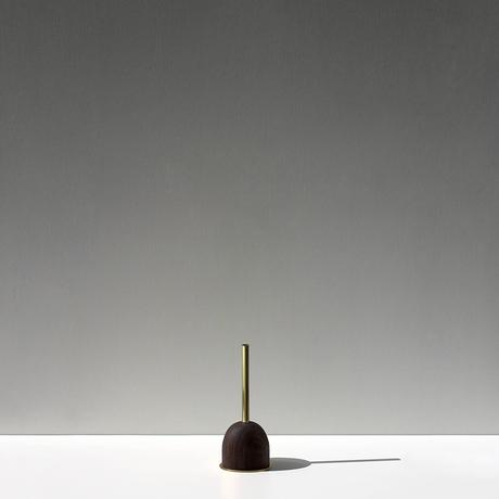 FUNNEL bud vase / S  / Walnut