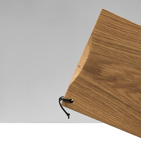 SKEW cutting board / L / Oak