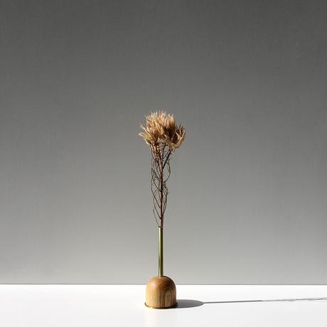 FUNNEL bud vase / S  / Ash