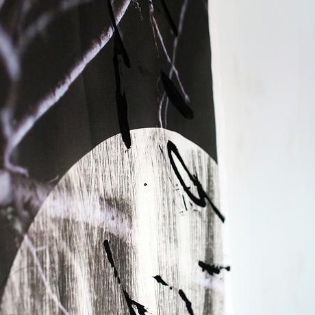 H/C × Kayo Nomura / FOREST CLOTH FRAGMENT / 点 - ten - Black