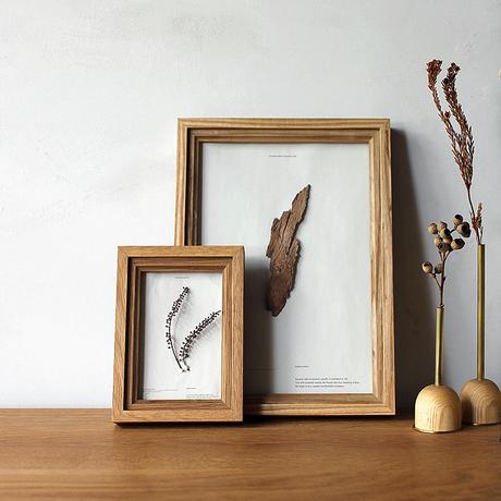 FILL frame / POSTCARD size / Oak