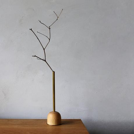 FUNNEL bud vase / L  / Oak