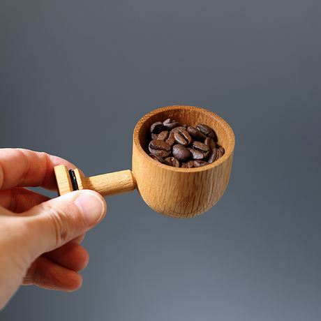 LEHTO coffee measure spoon / Oak