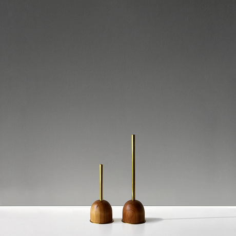 FUNNEL bud vase / S  / Cherry