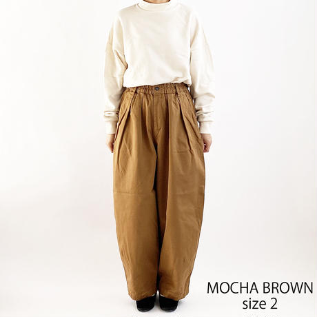 【2021春夏カラー】CIRCUS PANTS _ MOCHA BROWN(サーカスパンツ モカブラウン)A11709 _36