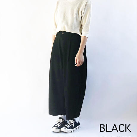 T/R WIDE EGG LONG PANTS (ワイドエッグ ロングパンツ) A21610