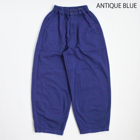 【2021春夏】COTTON/LINEN HERRINGBONE CIRCUS FATIGUE PANTS(綿麻ヘリンボン サーカスファティーグパンツ)A12112