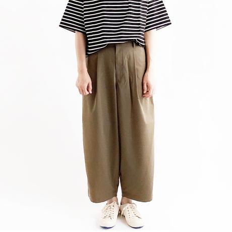 T/R WIDE EGG LONG PANTS (ワイドエッグ ロングパンツ) A21610