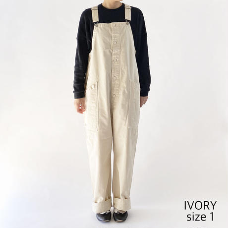 CHINO CLOTH OVERALLS(チノ オーバーオール)A12008