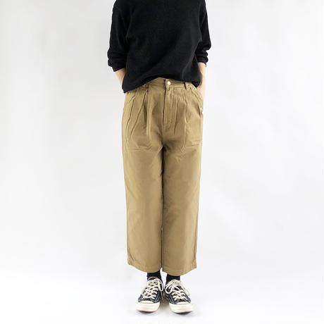 EGG TUCKED PANTS(エッグタックパンツ) A11606
